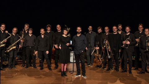Anna Roig & Àlex Cassanyes Big Band Project en concert